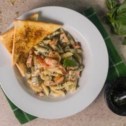 Seafood Pesto Cream