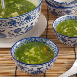 Spinach Seafood Soup