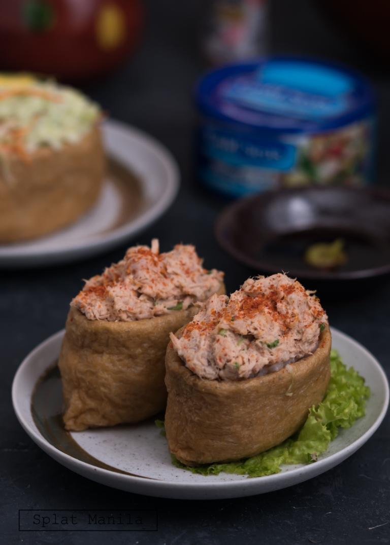 Inari Sushi with Gold Seas Tuna – Splat Manila