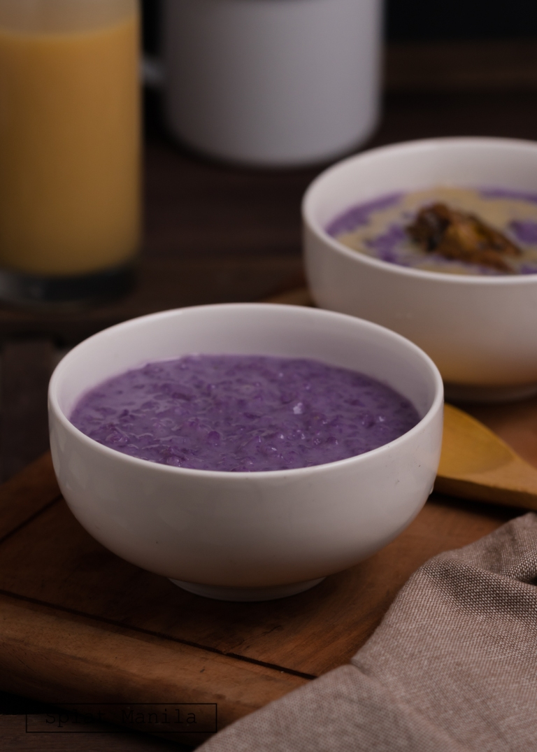 Ube Champorado WM-04846